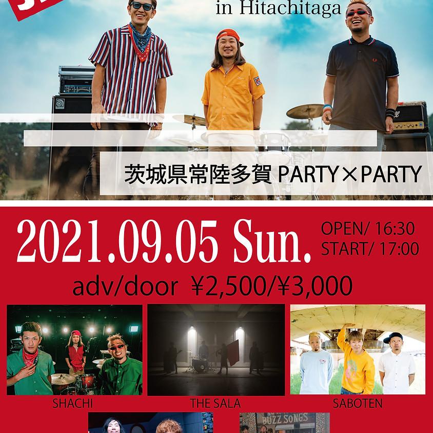 THE SALA presents 「SHACHI LATESTPUNK TOUR2021 in Hitachitaga」