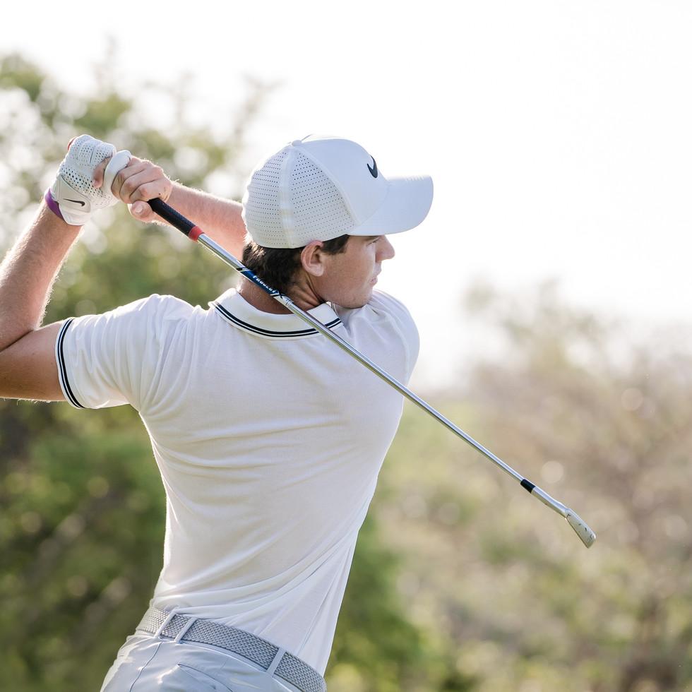 Pro golfer Ryan Ruffels