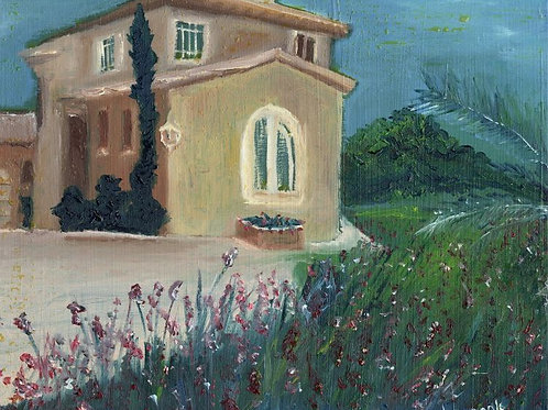 Nature Painting - House in Nature
