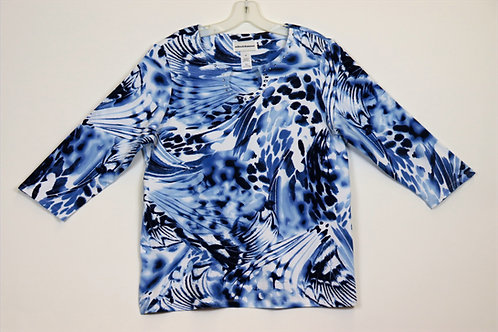Alfred Dunner 3/4 Sleeve Top 4150-4250