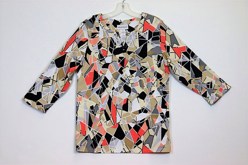 Alfred Dunner 3/4Sleeve Top 4158-4258