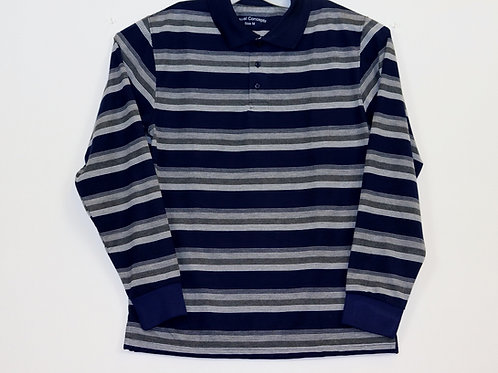 L/S Striped Polo Shirt 104ST-D