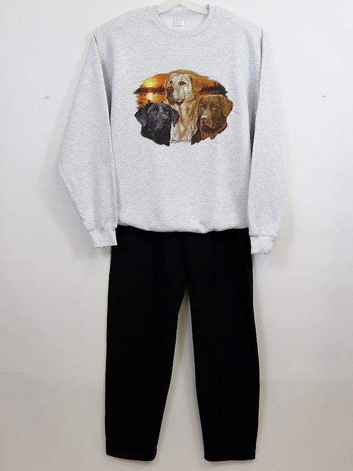 Printed Fleece Set 134