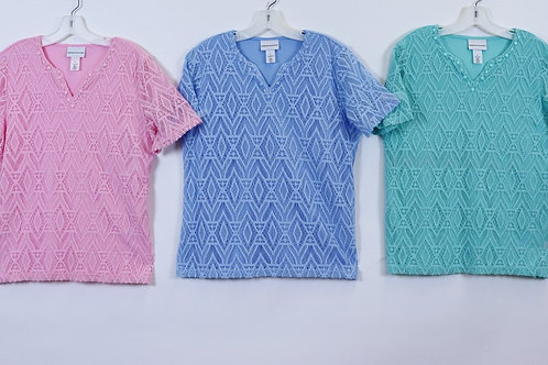 Alfred Dunner Short Sleeve Top 8180-8280