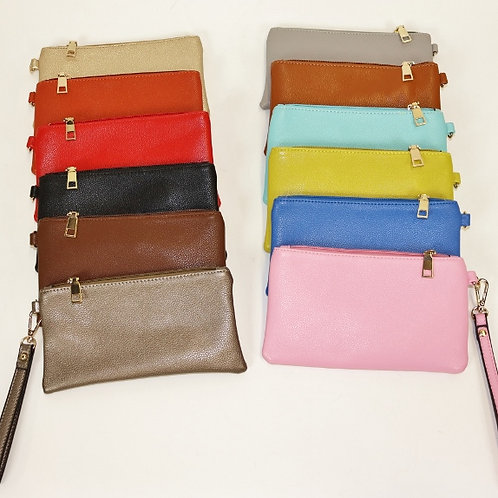 Coin Purse Clutch with Wristlet