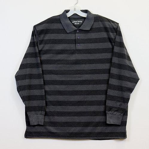 BIG MEN'S 4X L/S Knit Pullover Shirt  104ST-W