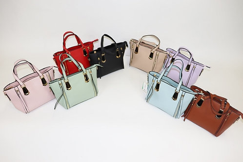 Mini Tote with Zipper Tassels  68813