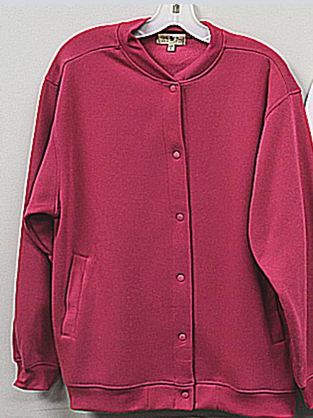 Women's Fleece Snap Front Cardigan  66360