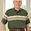 Thumbnail: S/S Men's Open Back Knit Shirt 10A3