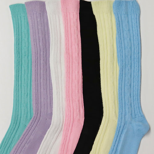 Nylon/Acrylic Blend Knee Socks ORK4