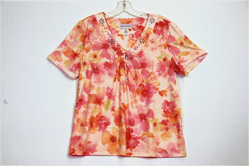 Alfred Dunner Short Sleeve Top 4156-4256