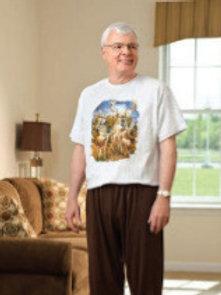 S/S Print T-Shirt Jumpsuit JS106
