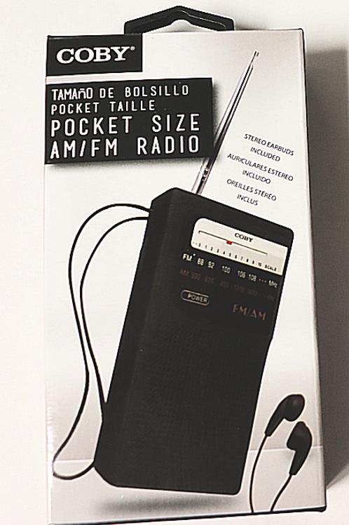 Pocket Radio CR203BK