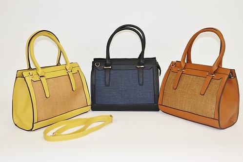 Buckle Tote Handbag 7711