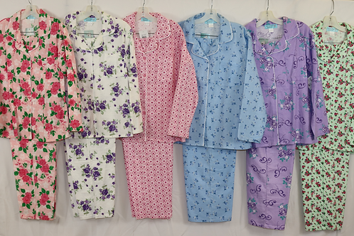 Flannel Pajamas 9160