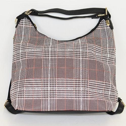 Plaid Hobo Bag & Coin Purse 7702