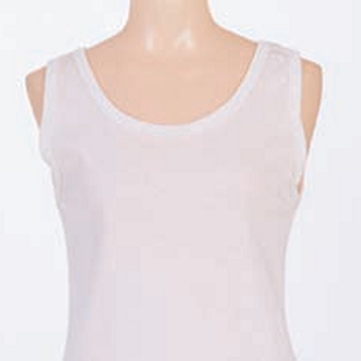 Wide Strap Cotton Vest 3300
