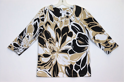 Alfred Dunner 3/4Sleeve Top 4159-4259
