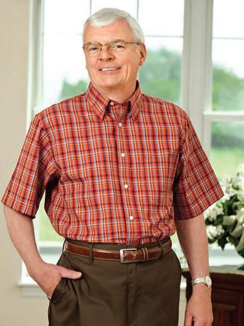 Short Sleeve Velcro® Closure Shirt 10AV1