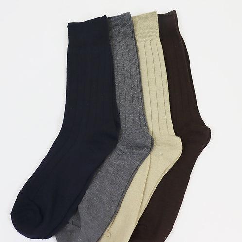 Cotton/Poly Crew Socks 8H1