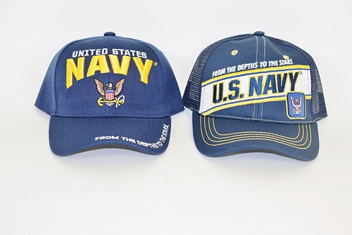 Ball Cap - Navy MS502N