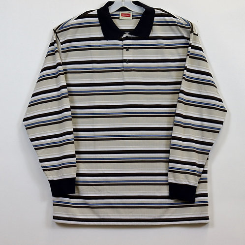 BIG MEN'S 4X L/S Knit Pullover Shirt  104ST-S