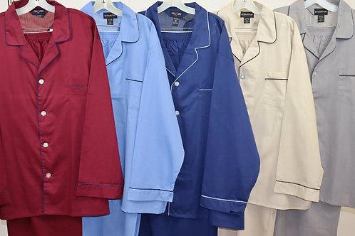 Solid Color Cotton Pajamas 51SD