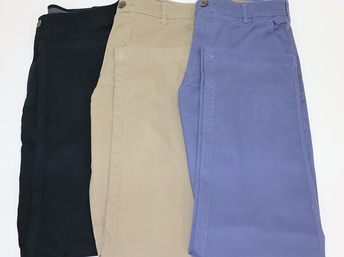 Men's Elastic Waist Pant With Belt Loops 112BL