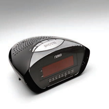 AM/FM Alarm Clock Radio  C224B