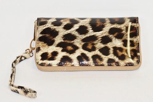 Shiny Leopard Wallet 9827