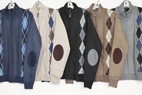 Men's Full Zip Sweater 91ZL