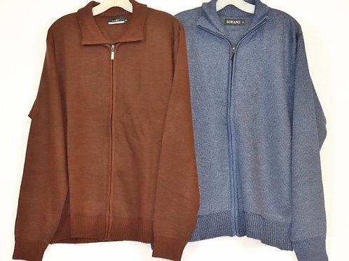 Men's Full Zip Sweater 91Z