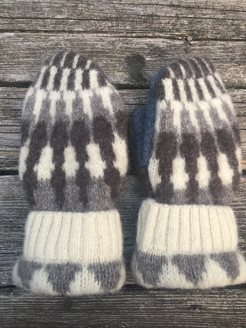 Bernie style wool and alpaca, large, Arctic warmth