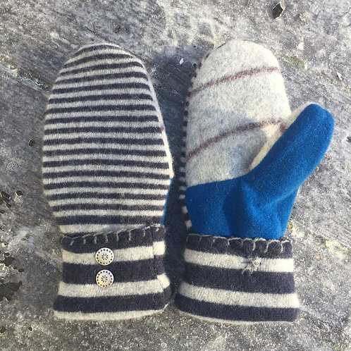 stripes and blue, medium slender