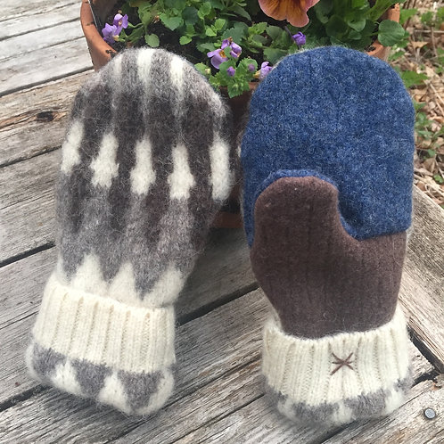 Bernie style wool/medium regular, Arctic