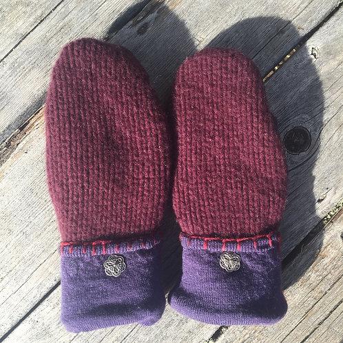 Purple and burgundy, medium slender