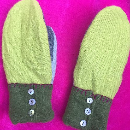 greens/grays, cashmere line, med slender