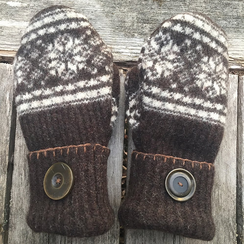 Jane's brown mittens :)