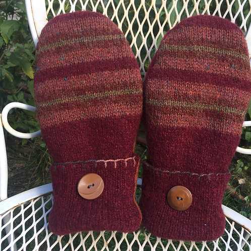 Arctic burgundy/rust/stripes med. reg