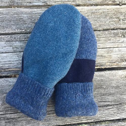 Large blue unadorned #2