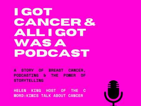 I got cancer and all I got was a podcast....Podfest talk!
