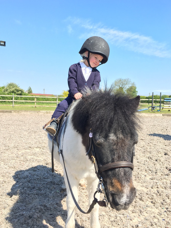 How cute are our youngest members at Club Equestrian!