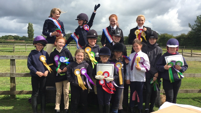 Happy Campers and Competitors at Club Equestrian🏆🐴