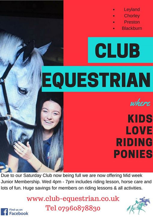 Introduce a friend to receive a Club Equestrian, Personalised, Riders Polo Shirt.