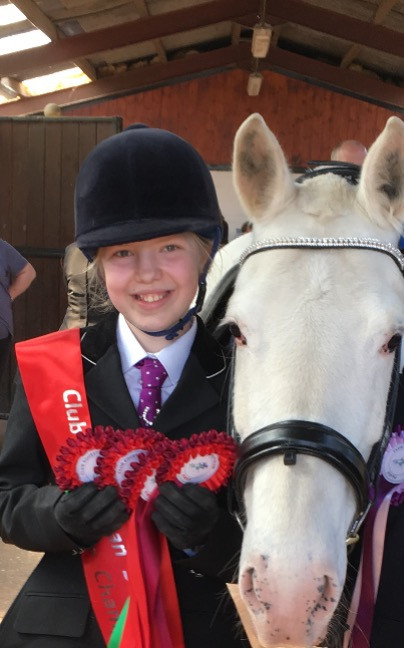 Well done Kirsty and Saffy! Supreme Champions of our Club Equestrian May Show