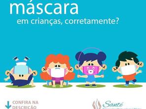 O uso de máscara em crianças menores de 2 anos é contraindicado devido a: