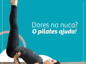 Dores na Nuca? O Pilates Ajuda!