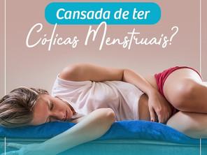 Cansada de ter Cólicas Menstruais?
