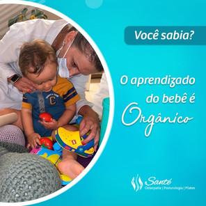Você sabia? O aprendizado do bebê é Orgânico