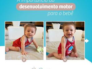 A importância do desenvolvimento motor para o bebê